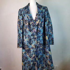 John Meyer long purple/blue shimmer dressy jacket